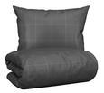 Bettwäsche Jack Wende 140x200cm - Anthrazit/Grau, MODERN, Textil (140/200cm) - Mömax modern living