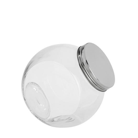 Recipient Pentru Condimente Antonius - 1,67l -Based- - clar/culoare inox, sticlă/metal (16/11/16,5cm) - Based