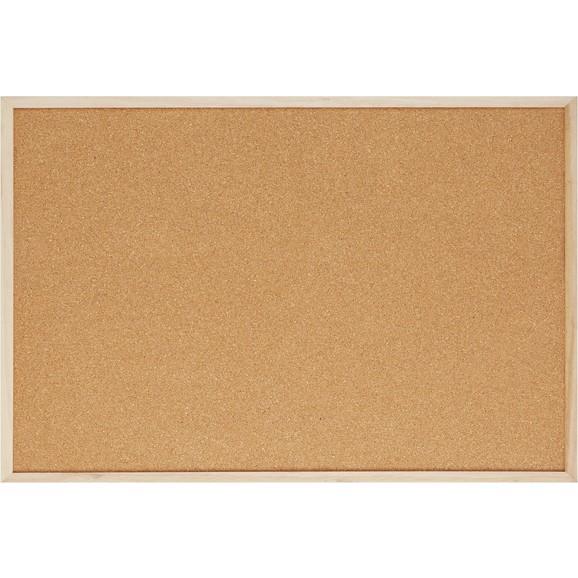 Pinnwand cora in braun aus holz kork online kaufen m max for Pinnwand modern