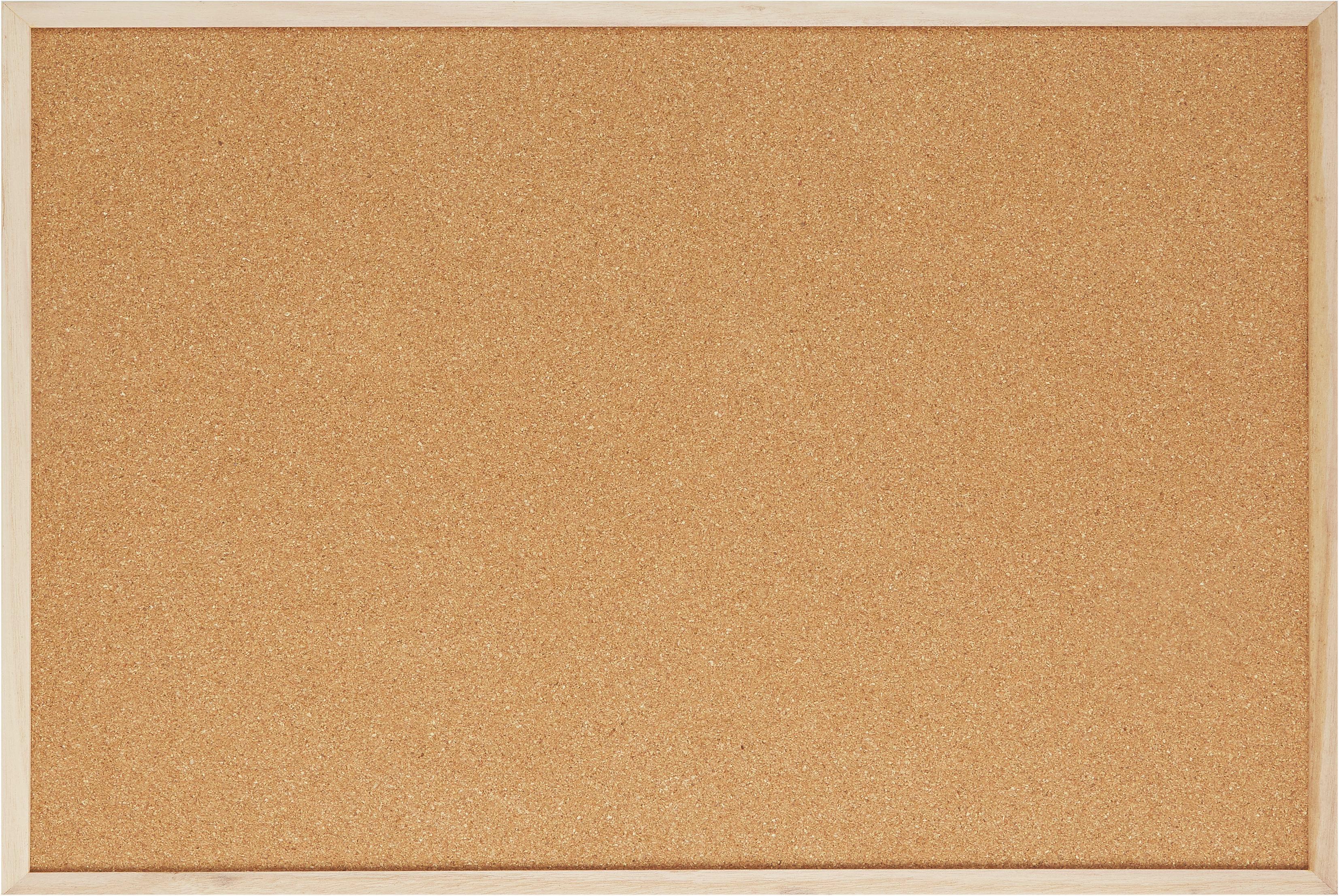 Üzenőtábla Cora - barna, fa (30/45/1cm) - MÖMAX modern living