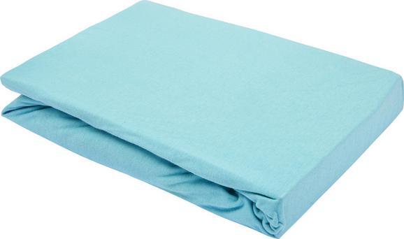 Spannleintuch Basic ca. 180x200cm - Mintgrün, Textil (180/200cm) - Mömax modern living