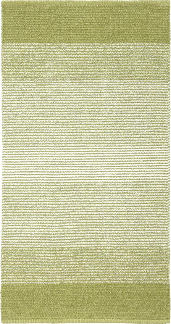 Fleckerlteppich Malto - Grün, MODERN, Textil (100/150cm) - MÖMAX modern living