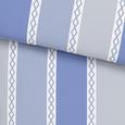 Lenjerie De Pat Alois - albastru/liliachiu, textil (140/200cm) - Modern Living