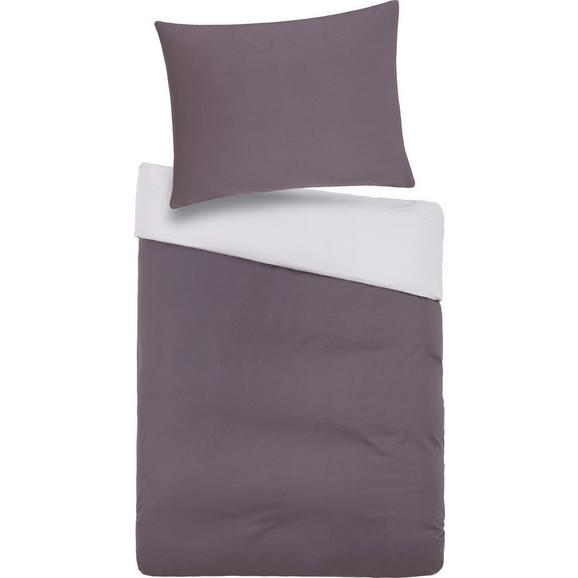 Bettwäsche BELINDA Grau 140x200cm - Hellgrau/Grau, Textil (140/200cm) - Premium Living