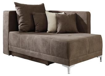 Schlafsofa Braun - Braun, Holzwerkstoff/Textil (154/80/95cm) - MODERN LIVING