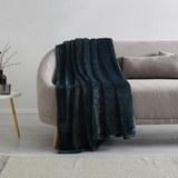 Kuscheldecke S'oliver 150x200 cm - Dunkelgrün, MODERN, Textil (150/200cm) - S. Oliver