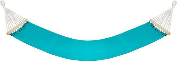 Függőágy Relax - Barna/Kék, Fa/Textil (100/200cm) - MÖMAX modern living