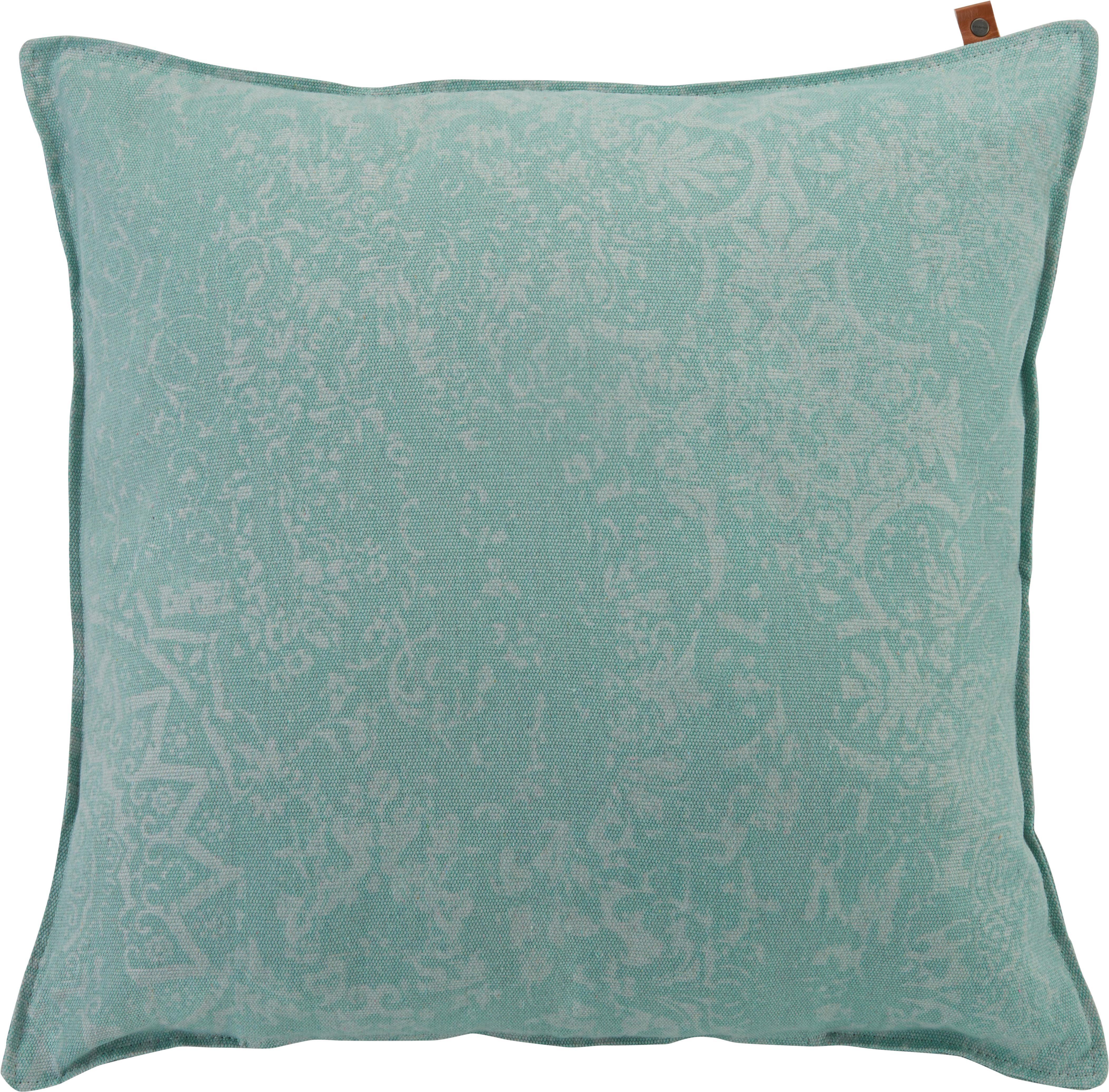 Zierkissen Karim 60x60cm - Mintgrün, MODERN, Textil (60/60cm)