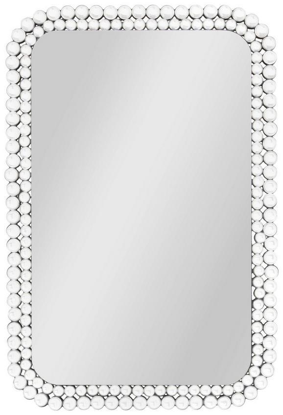 Wandspiegel Silber - MODERN, Glas/Holzwerkstoff (59/89/3cm) - Modern Living