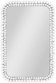 Wandspiegel Silber - Schwarz/Weiß, MODERN, Glas/Holzwerkstoff (59/89/3cm) - Modern Living