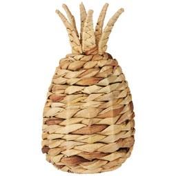 Dekofrucht Ananas in Naturfarben - Naturfarben, Basics, Naturmaterialien (20/20/30cm)