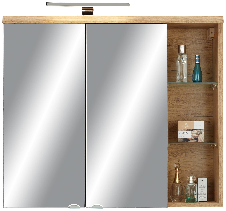 Mömax Badezimmer Schrank: Spiegelschrank Eichefarben Online Kaufen Mömax