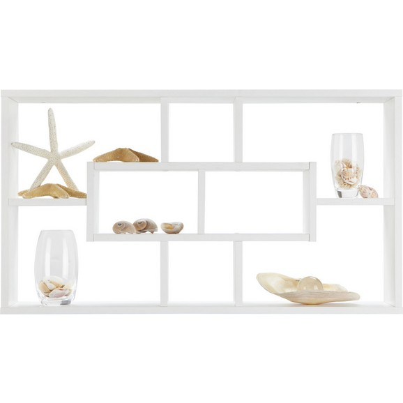 wandregal in wei online kaufen m max. Black Bedroom Furniture Sets. Home Design Ideas