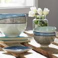 Platte Nina aus Porzellan - Blau, Keramik (12,5cm) - Mömax modern living