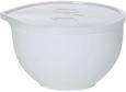 Rührschüssel Kaija in Weiß aus Kunststoff - Transparent/Weiß, Kunststoff (1,0l) - Mömax modern living