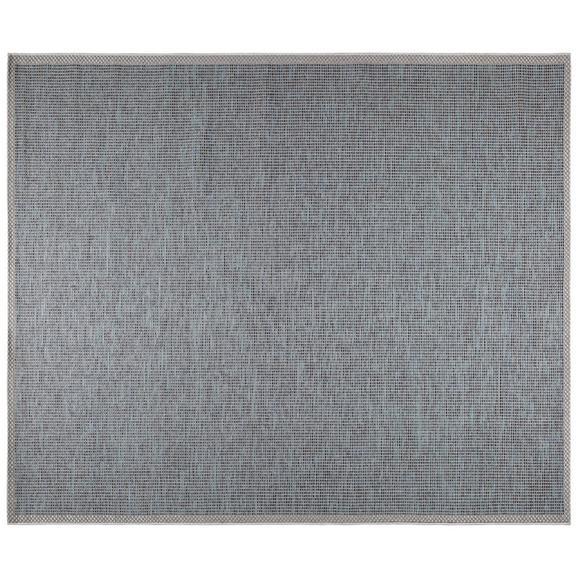 Ravno Tkana Preproga Jan 3 - modra, Moderno, tekstil (200/250cm) - Mömax modern living