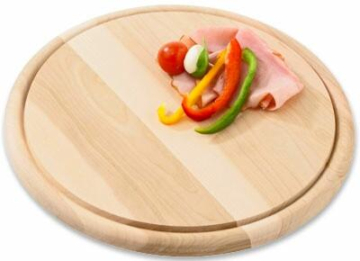 Steaktányér Björn/bruno - natúr színek, konvencionális, fa (30cm) - MÖMAX modern living