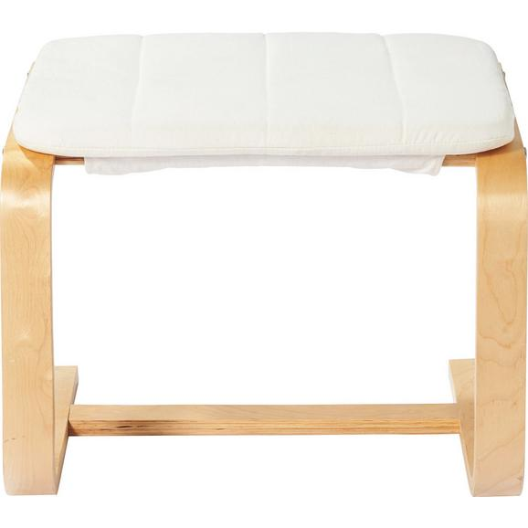 Ülőke Manu - Natúr/Nyírfa, modern, Fa (51/36/45cm) - Mömax modern living