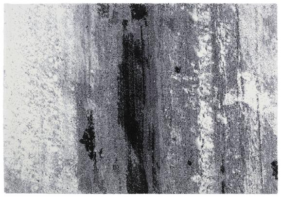 Tkana Preproga Topas - črna/svetlo siva, Moderno (133/190cm)