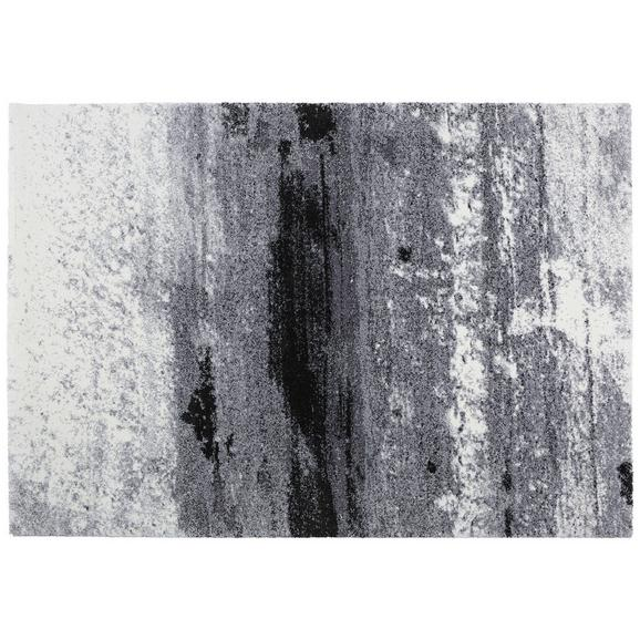 Webteppich Topas, ca. 133x190cm - Hellgrau/Schwarz, MODERN (133/190cm)