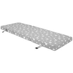 Faltmatratze in Grau ca. 185x62cm - Grau, Kunststoff/Textil (185/62cm)
