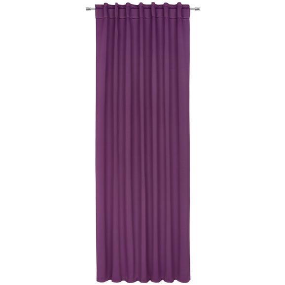 Draperie Opacă Riccardo - lila, textil (140/245cm) - Premium Living