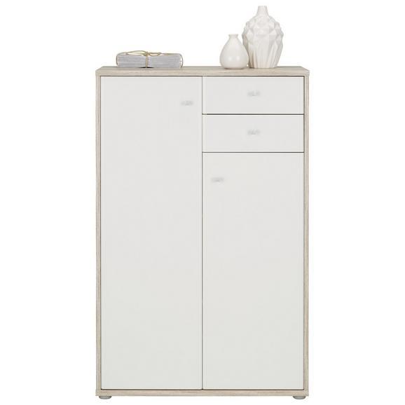 Visoka Komoda Tempra - aluminij/siva, Moderno, kovina/umetna masa (72/111/34cm) - Mömax modern living