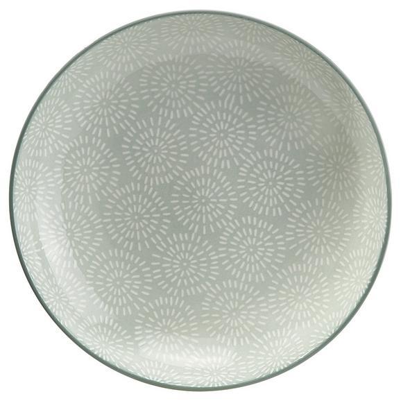 Farfurie Adâncă Nina - verde mentă, ceramică (21cm) - Modern Living