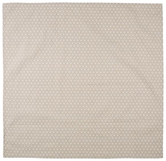 Prt Ameline - sivo rjava, Romantika, tekstil (85/85cm) - Zandiara
