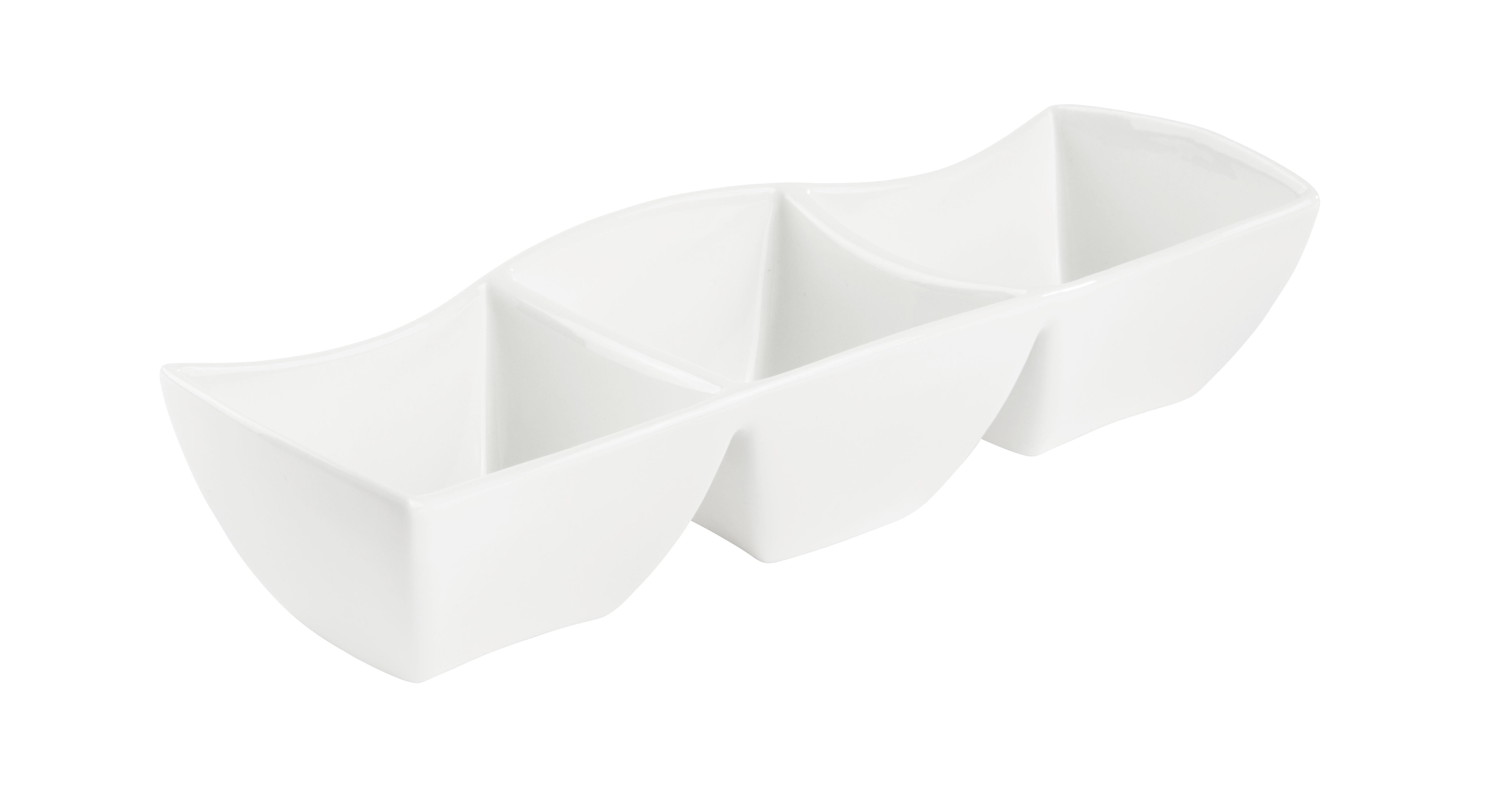 Snack Tál Tacoma - fehér, Lifestyle, kerámia (30cm) - premium living