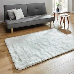 Fellteppich Romy 120x170 cm - Weiß, MODERN, Textil (120/170cm) - Mömax modern living
