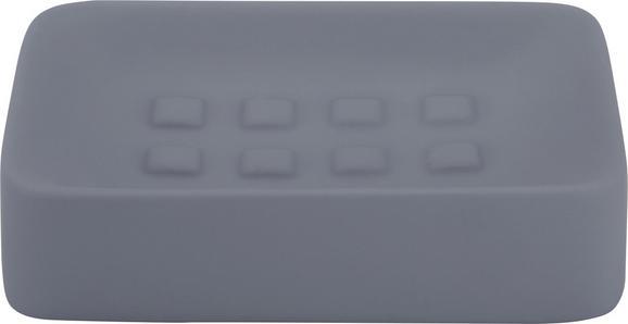 Seifenschale in Anthrazit aus Keramik - Anthrazit, Keramik (8,3/12,5cm) - MÖMAX modern living
