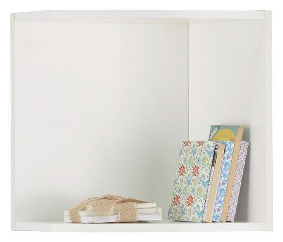 Aufsatzschrank Weiß - Weiß, Holzwerkstoff (30/40/38cm) - Mömax modern living
