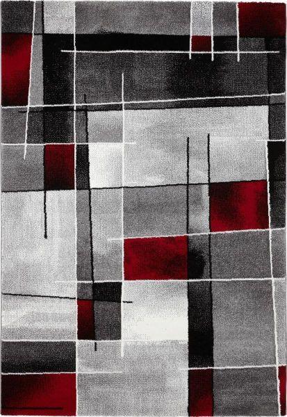 Webteppich Ibiza - Rot, KONVENTIONELL, Textil (120/170cm) - MÖMAX modern living