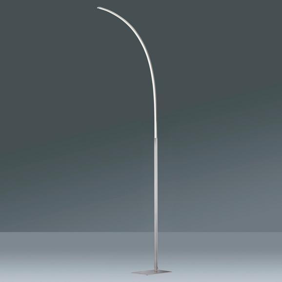 Stehleuchte Ada, max. 12 Watt - Chromfarben, MODERN, Kunststoff/Metall (18/14/150cm) - Mömax modern living