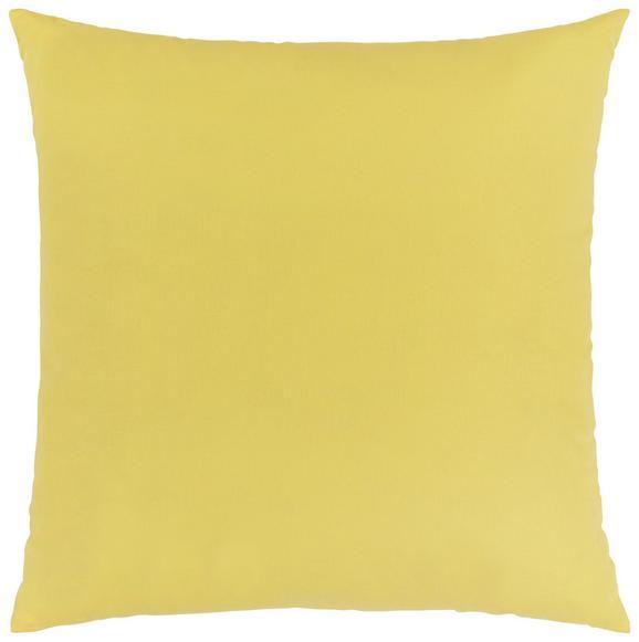 Pernă Decorativă Zippmex - Galben, Material textil (50/50cm) - Based