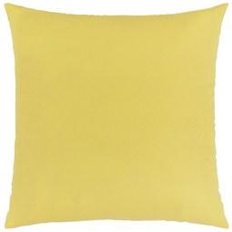 Zierkissen Zippmex Gelb ca. 50x50cm - Gelb, Textil (50/50cm) - Based