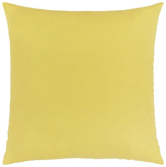 Zierkissen Zippmex in Gelb, ca. 50x50cm - Gelb, Textil (50/50cm) - Based