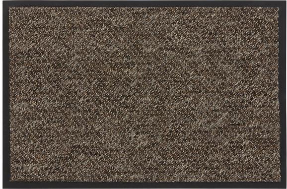 Lábtörlő Nora - barna, modern, műanyag (40/60cm) - MÖMAX modern living