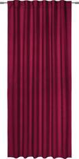 Verdunkelungsvorhang Riccardo in Rot, ca. 140x245cm - Beere, Textil (140/245cm) - Premium Living