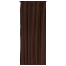 Fertigvorhang Leo Braun 135x255cm - Braun, Textil (135cm) - Premium Living