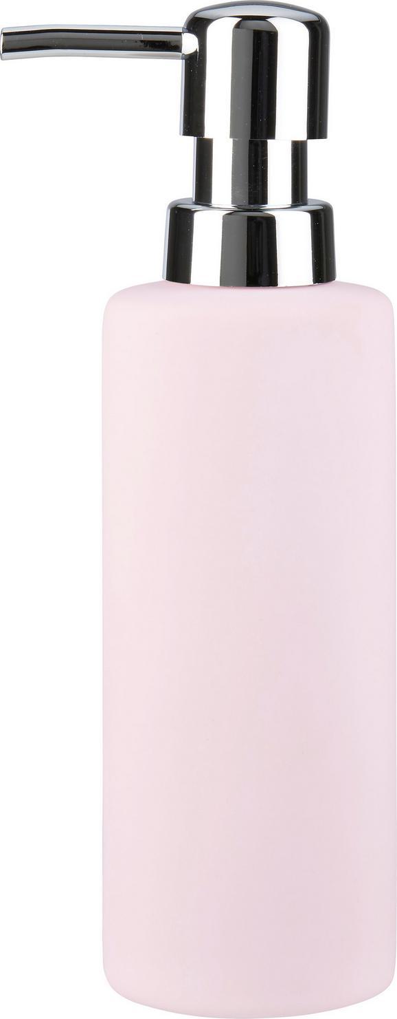 Seifenspender Melanie Rosa - Rosa, Keramik (5/18cm) - Mömax modern living