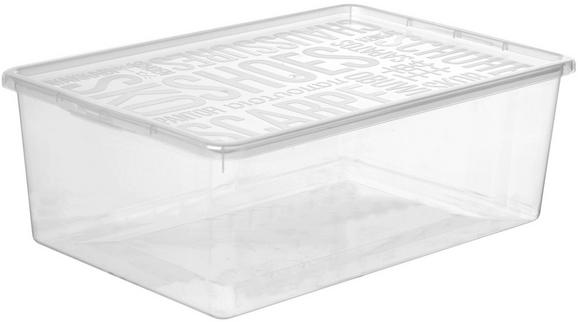 Škatla S Pokrovom Sandra - prosojna, umetna masa (25,8/13,3/39cm) - Mömax modern living