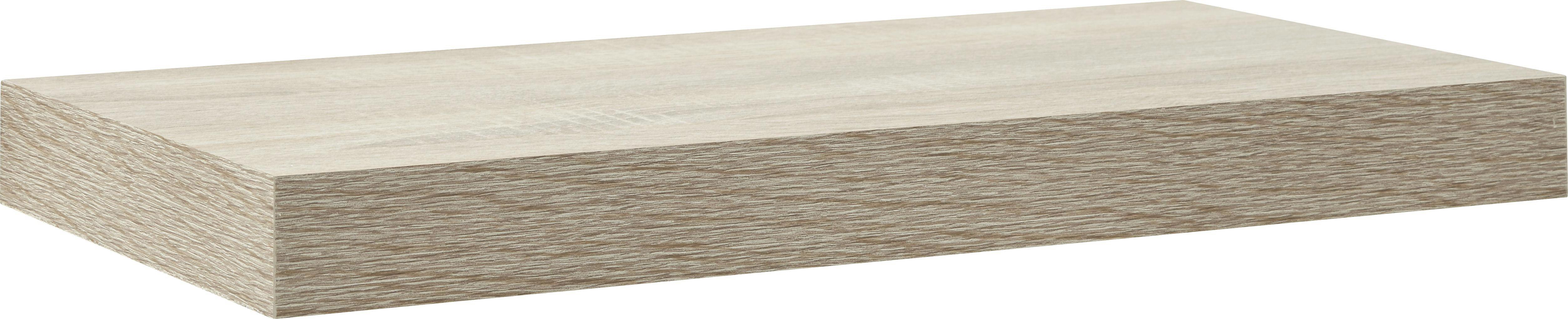 Wandboard in Trüffeleichefarben - Trüffeleichefarben, Holz (50/4.4/24cm) - MÖMAX modern living