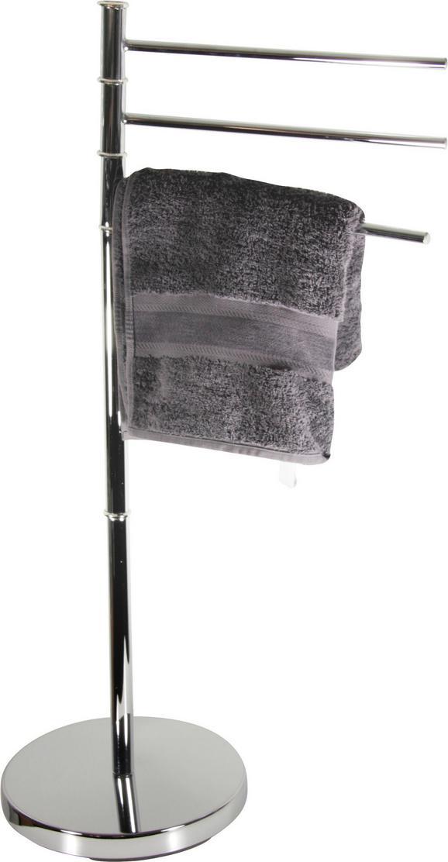 Törölközőtartó Florenz 3 B991775 - Ezüst, konvencionális, Fém (27/67/88,5cm) - James Wood