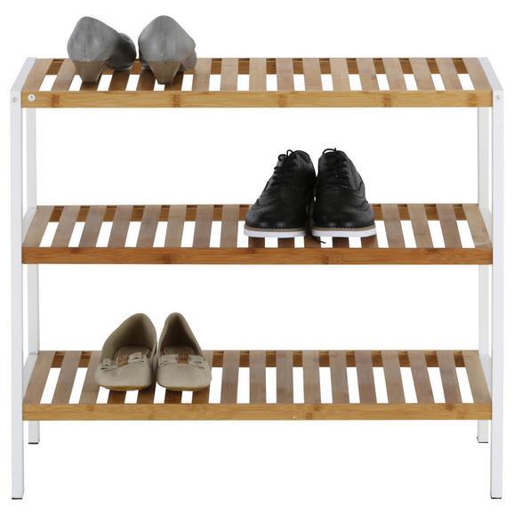 schuhregal wei naturfarben online kaufen m max. Black Bedroom Furniture Sets. Home Design Ideas