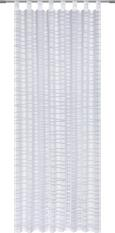 Zavesa Z Zankami Ivan - 2-delni Set - bela, Moderno, tekstil (140/245cm) - Mömax modern living