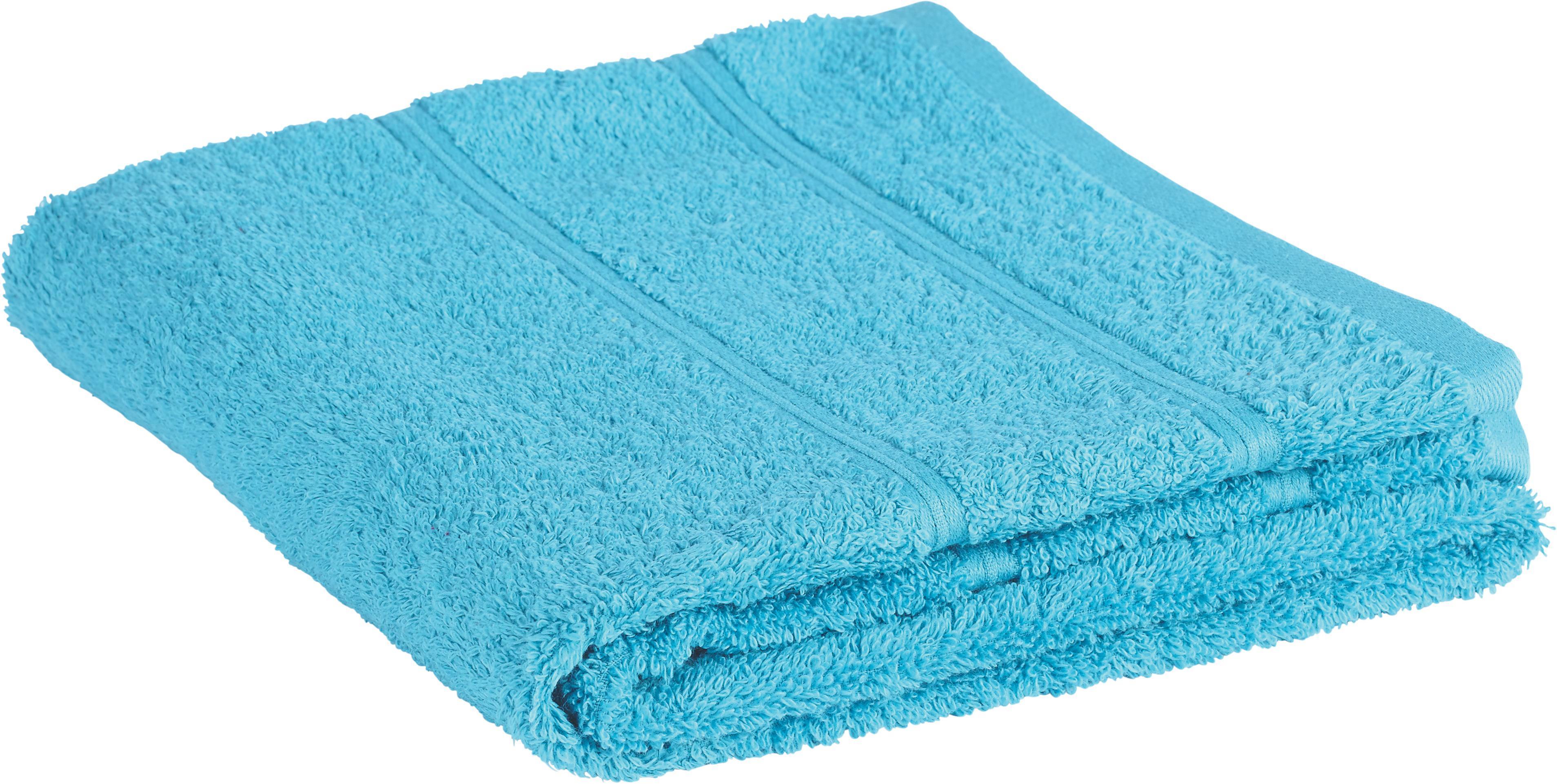 Handtuch Melanie in Aqua - Blau, Textil (50/100cm) - MÖMAX modern living