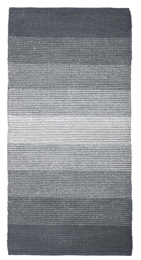 Fleckerlteppich Malto - Schwarz, MODERN, Textil (100/150cm) - MÖMAX modern living
