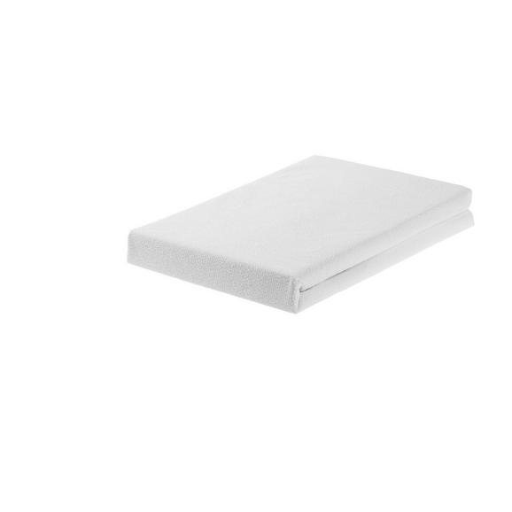 Matratzenschoner in Weiß ca. 140x200cm - Weiß, Textil (140/200cm) - Mömax modern living